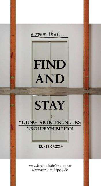 Plakat Find and Stay
